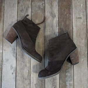 DV by Dolce Vita Size 8 Distressed Leather Bootie